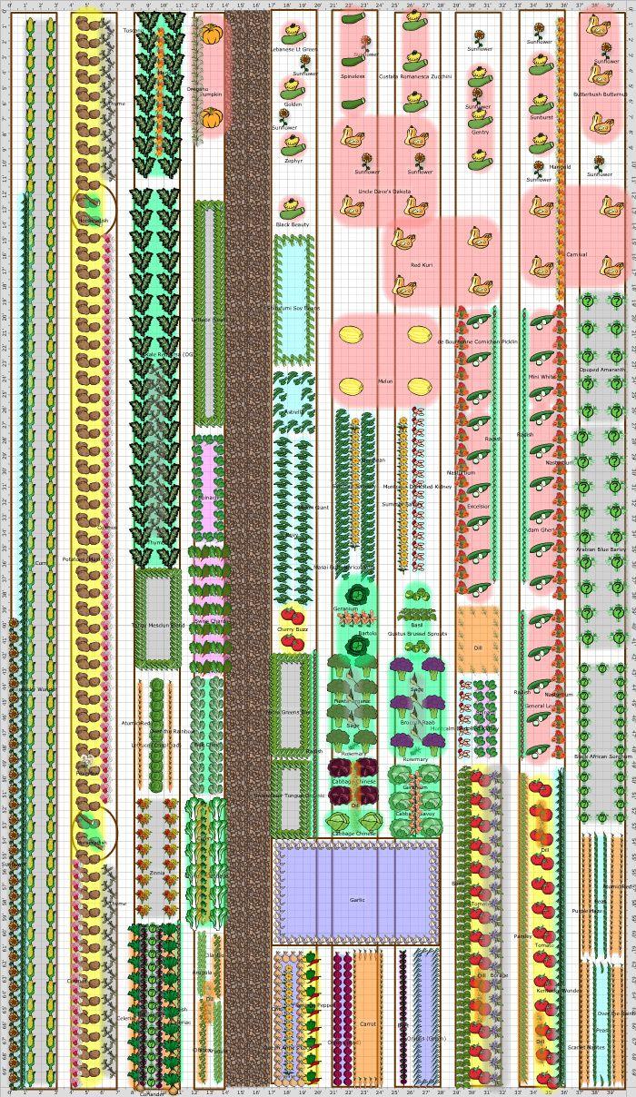 Garden Plan 2013 Community Garden Vegetable Garden Planning