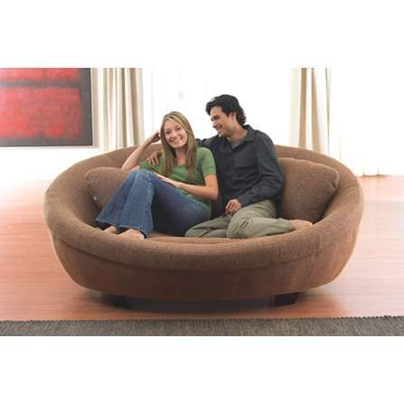 Round Lounge Couch Sofa