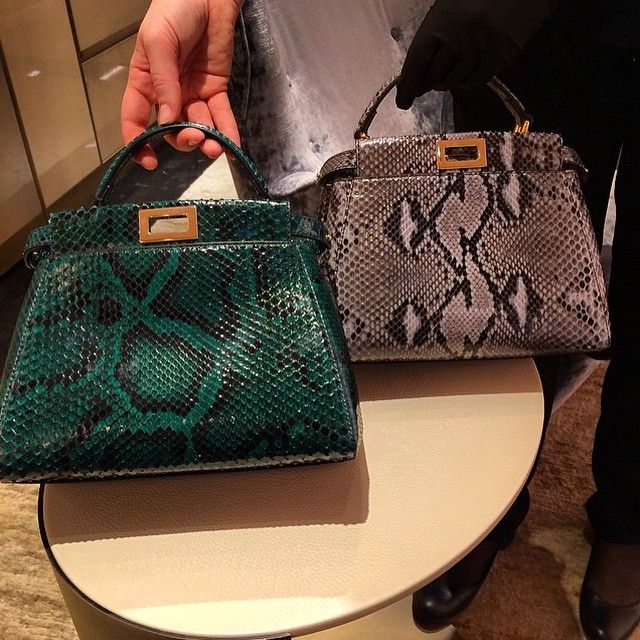 Fendi Python Peek A Boo   Womenu0027s Designer Handbags   Accessories   #fashion