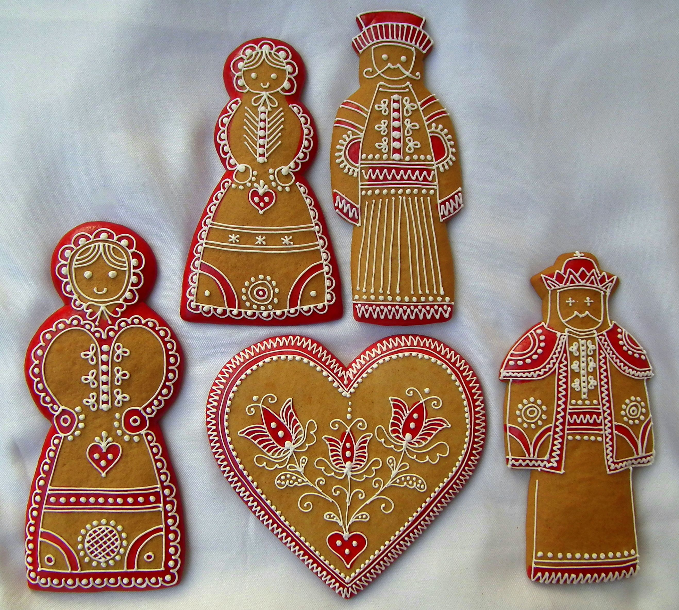Mezesmanna Images Hungarian Gingerbread Decorated Cookies