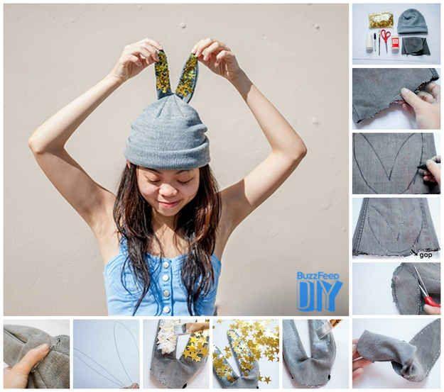 1a32e5934a6 26 Cute And Novel Ways To Use Confetti. Bunny CraftsEar ...