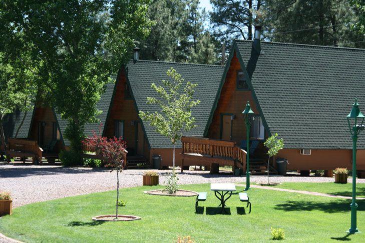 Arizona cabin rentals resort lodging in strawberry az