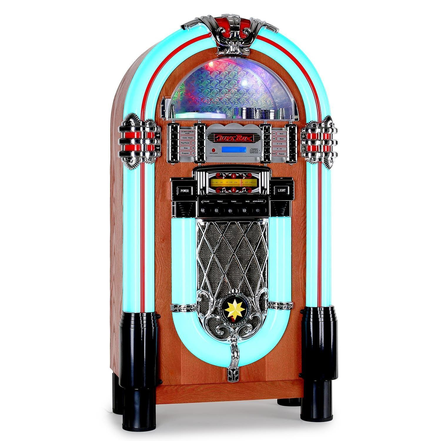 50er jahre vintage rockabilly deko juke box rockabilly. Black Bedroom Furniture Sets. Home Design Ideas