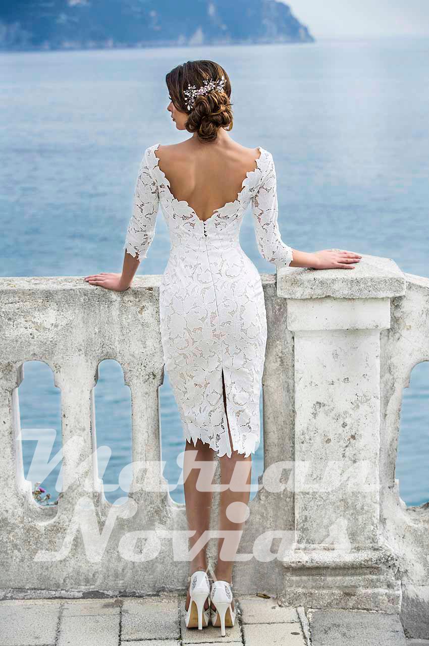 Vestidos de novia cortos – ¿Por qué no? – Marián Novias – Vestidos de Novia