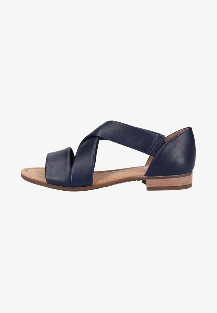 huge selection of 77de4 0d302 Riemensandalette - blue @ Zalando.de 🛒   shoes* in 2019 ...