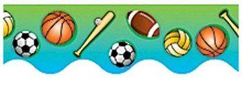 Sports Classroom Classroom Border (Set of 3)