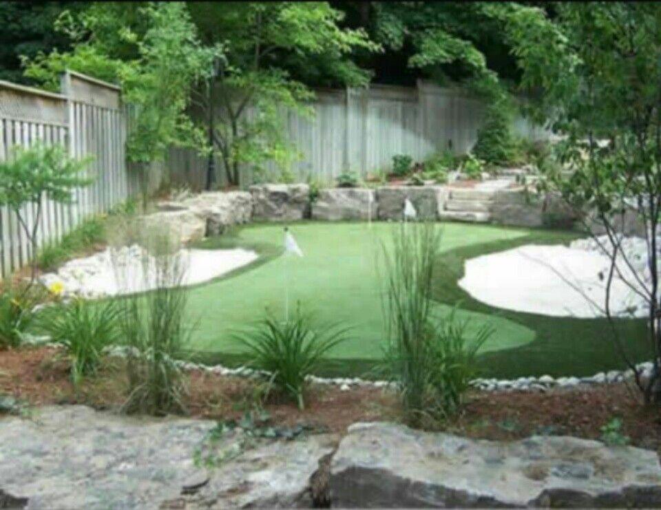 Pin by Izza on Design Golf Putting Green | Backyard ...