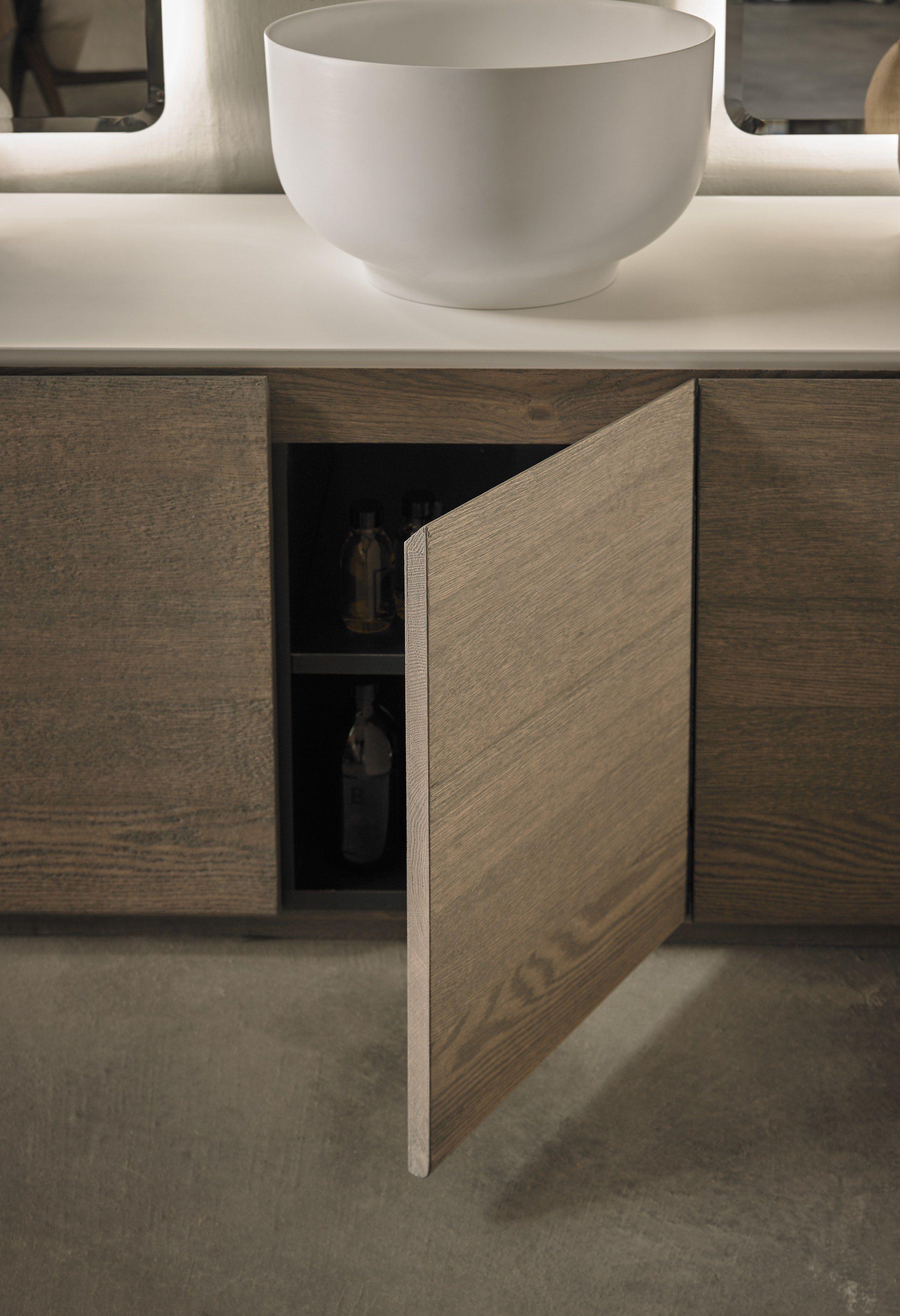 origin   mueble bajo lavabo doble by inbani diseño seung-yong song ... - Muebles De Lavabo De Diseno