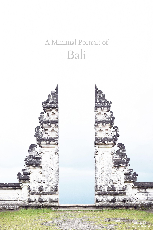A Minimal Portrait Of Bali Indonesia Minimalist Travel Photography Matthijs Minimalist Photography Creative Portrait Photography Double Exposure Photography
