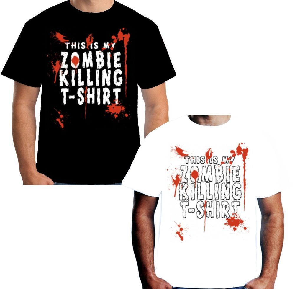 Velocitee Ladies Long Sleeve T-Shirt  Zombie Girls Will Eat Your Heart Zombies