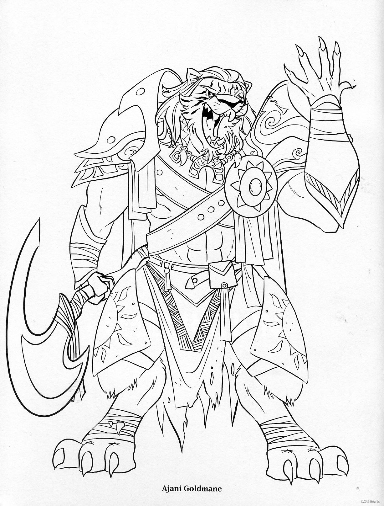 The Magic The Gathering Coloring Book Daily Mtg Magic The