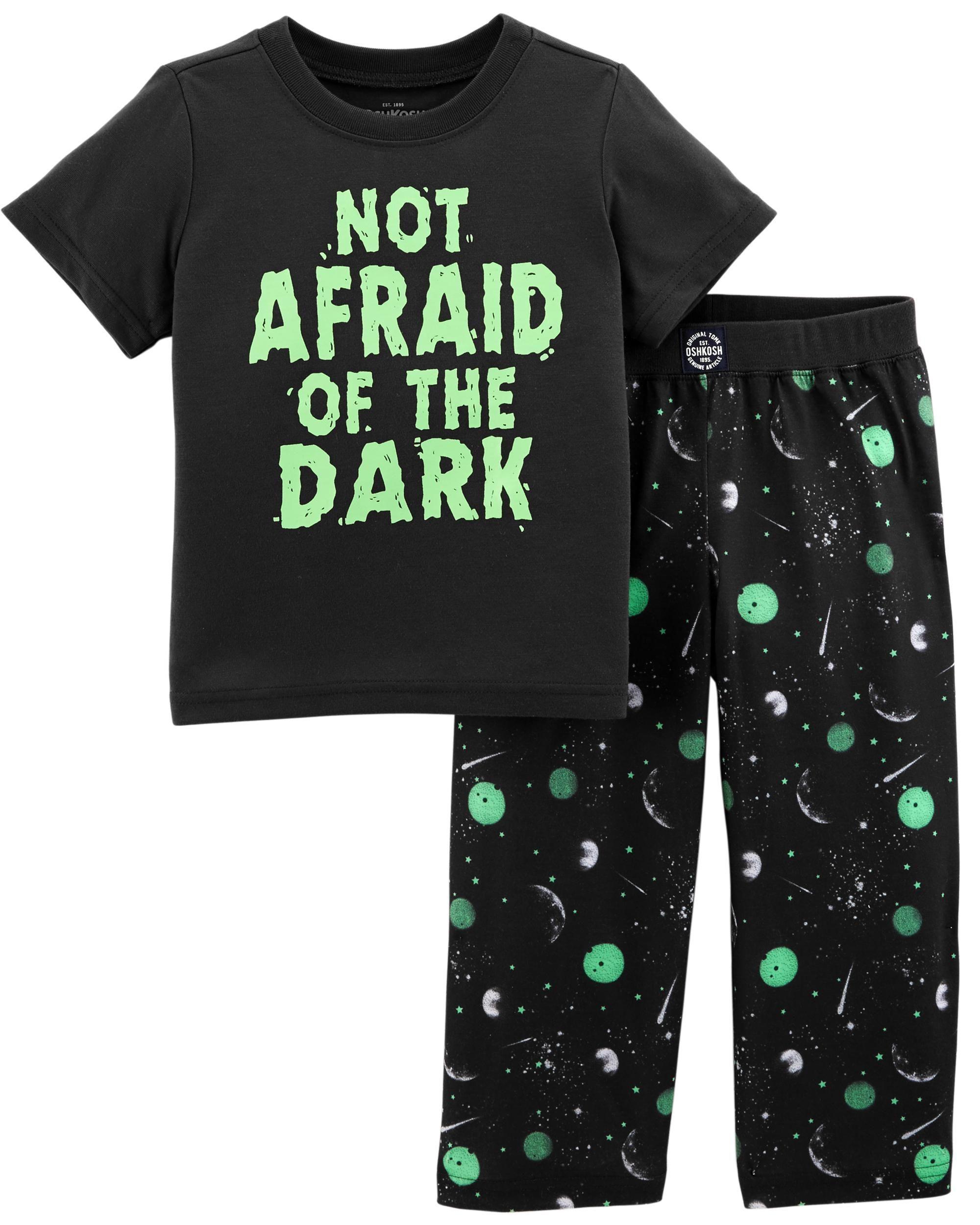 84a9c4a1a 2-Piece Glow-in-the-Dark PJs