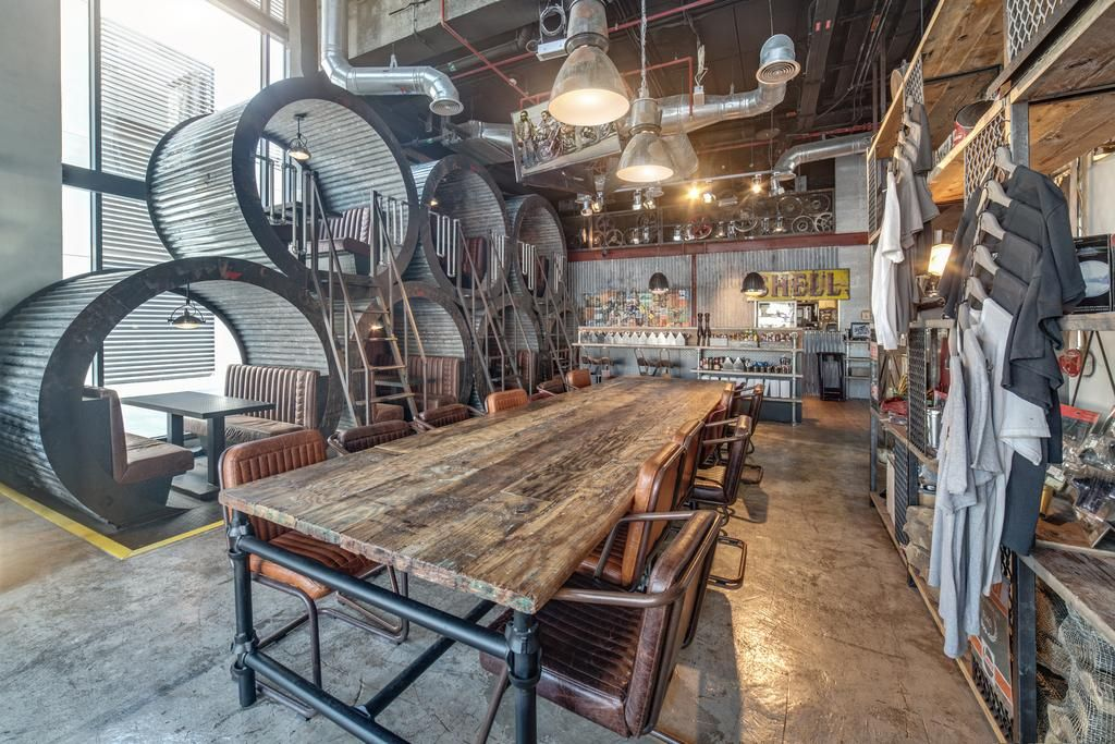 Six Of The Best Motorcycle And Car Themed Restaurants And Cafes In