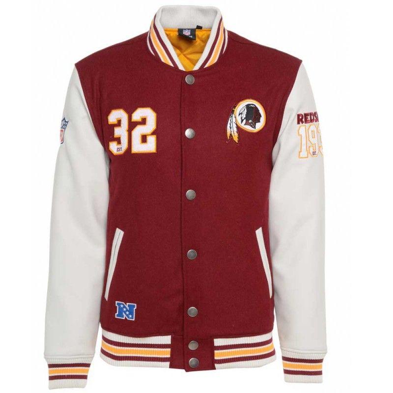 Majestic NFL Washington Redskins Varsity Jacket £109.99  ac207d168