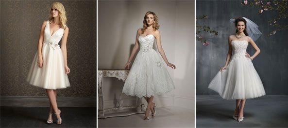 Trending: Short & Sassy #BridalGowns #MAWeddingGuide | Bridal Gown ...