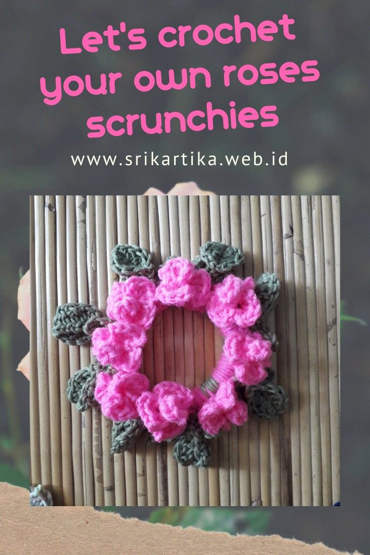Manage your scarp and make scrunchies