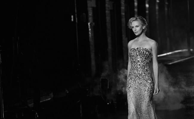 Behind the scenes with Charlize Theron for the new Dior J'adore campaign