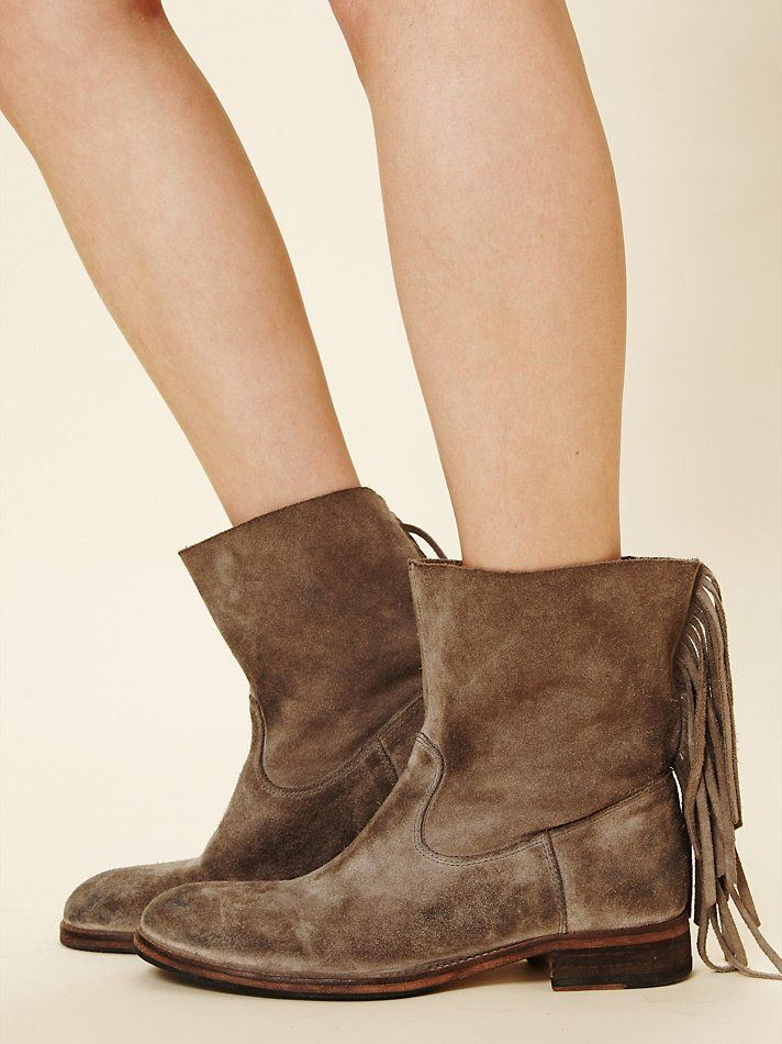 Hollywood Trading Company Sienna Fringe Boot at Free People Clothing Boutique My new fall boot!
