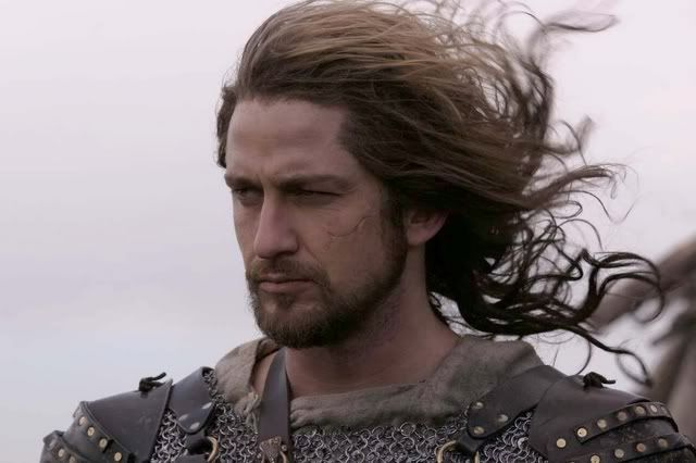 Like a Celtic warrior of old...