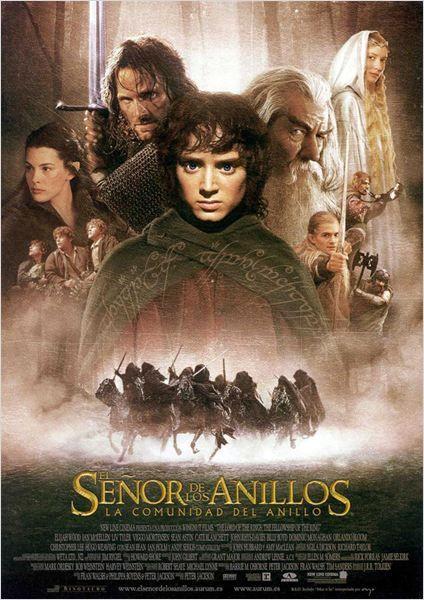 El Senor De Los Anillos La Comunidad Del Anillo Cartel Posteres De Filmes Filmes Cartazes De Filmes