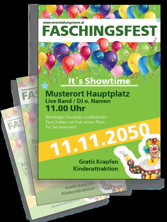 Karneval Flyer Von Www Onlineprintxxl Com Karnevalflyer
