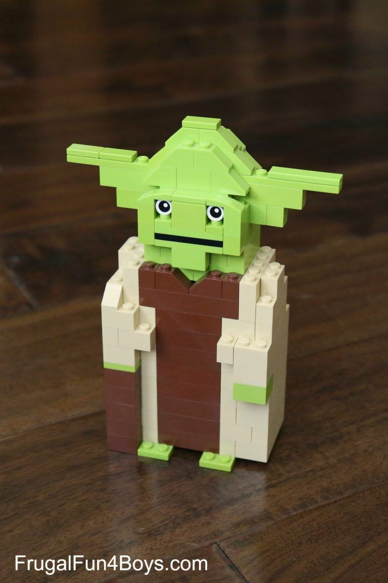 Lego star wars yoda building instructions stars wars pinterest