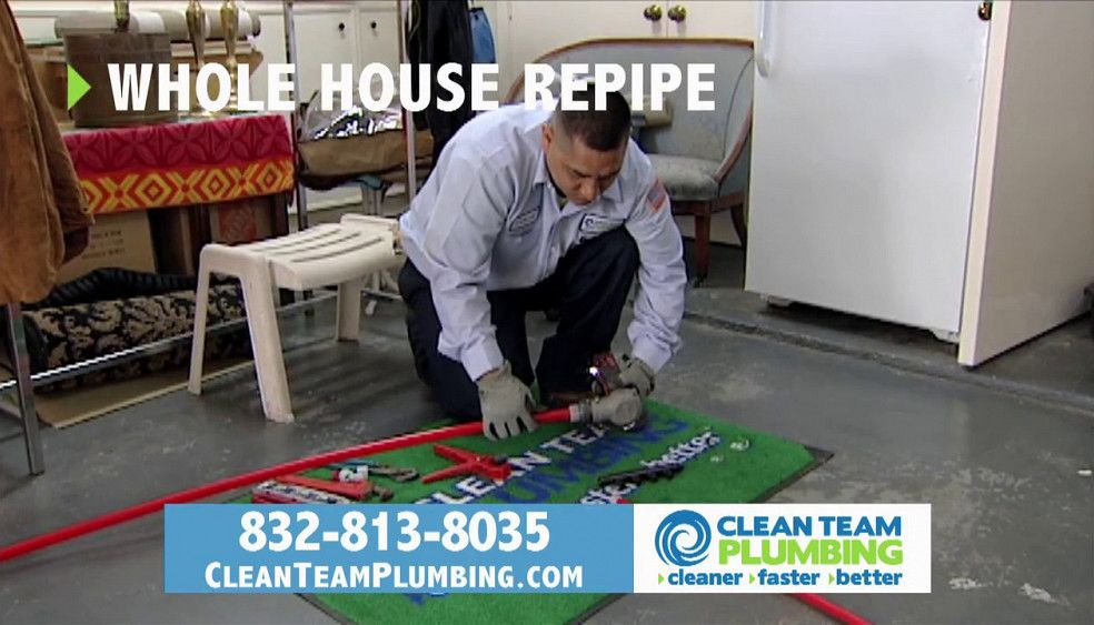 Pin on Clean Team Repipe About Us