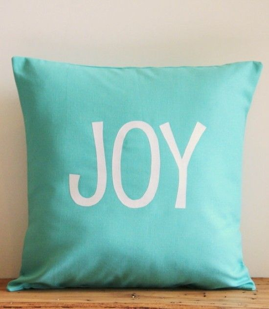 2017 Christmas Throw Pillow Covers Tiffany Blue Teal White Cover Modern Holiday Decor