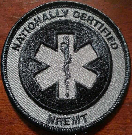 nremt tactical patch