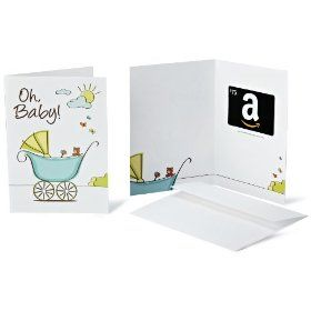 Amazon.com Gift Cards - In a Greeting Card - Free One-Day Shipping, (gift card, amazon gift card, gift idea, amazon gift certificates, easy, works great, kindle, ebook reader, ebook, kindle gift card)