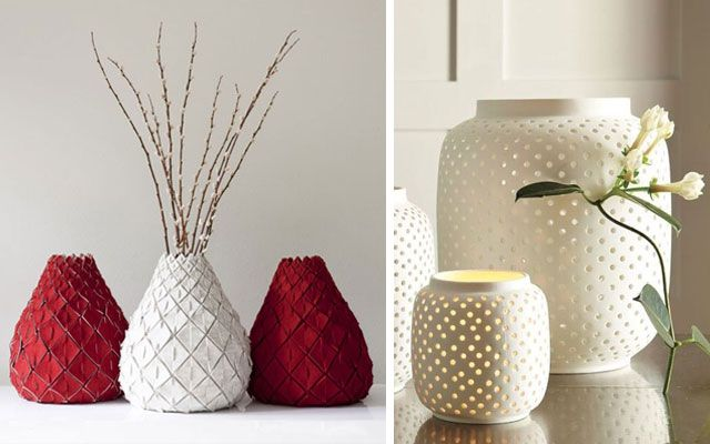 resultado de imagen para decoracion con jarrones grandes