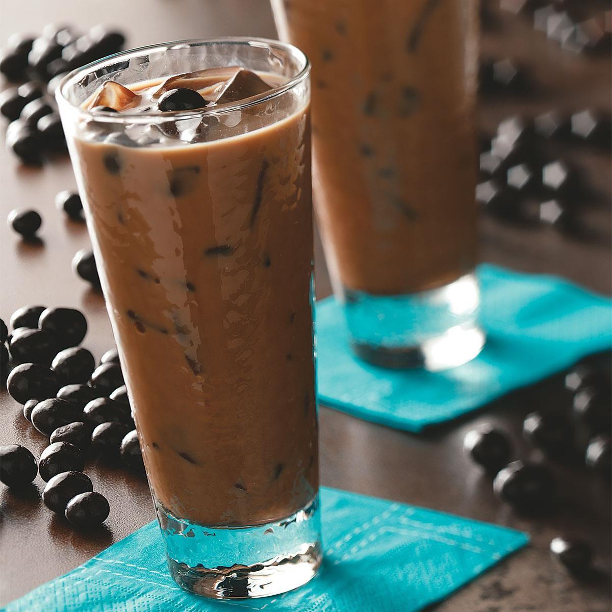 Cold Brew Caramel Coffee Milkshakes Love And Olive Oil Recipe Coffee Milkshake Cold Brew Coffee Recipe Coffee Recipes