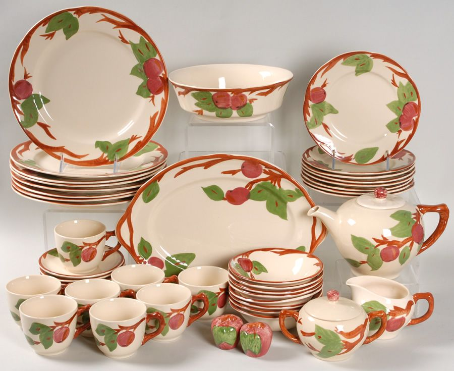 My Franciscan Apple Dinnerware I Ve Collected These Over The