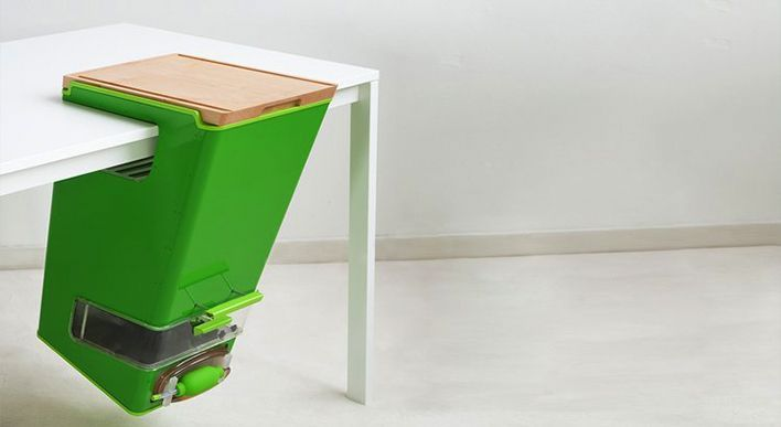 A clever compost bin for your apartment #eco #sustainability #design ...