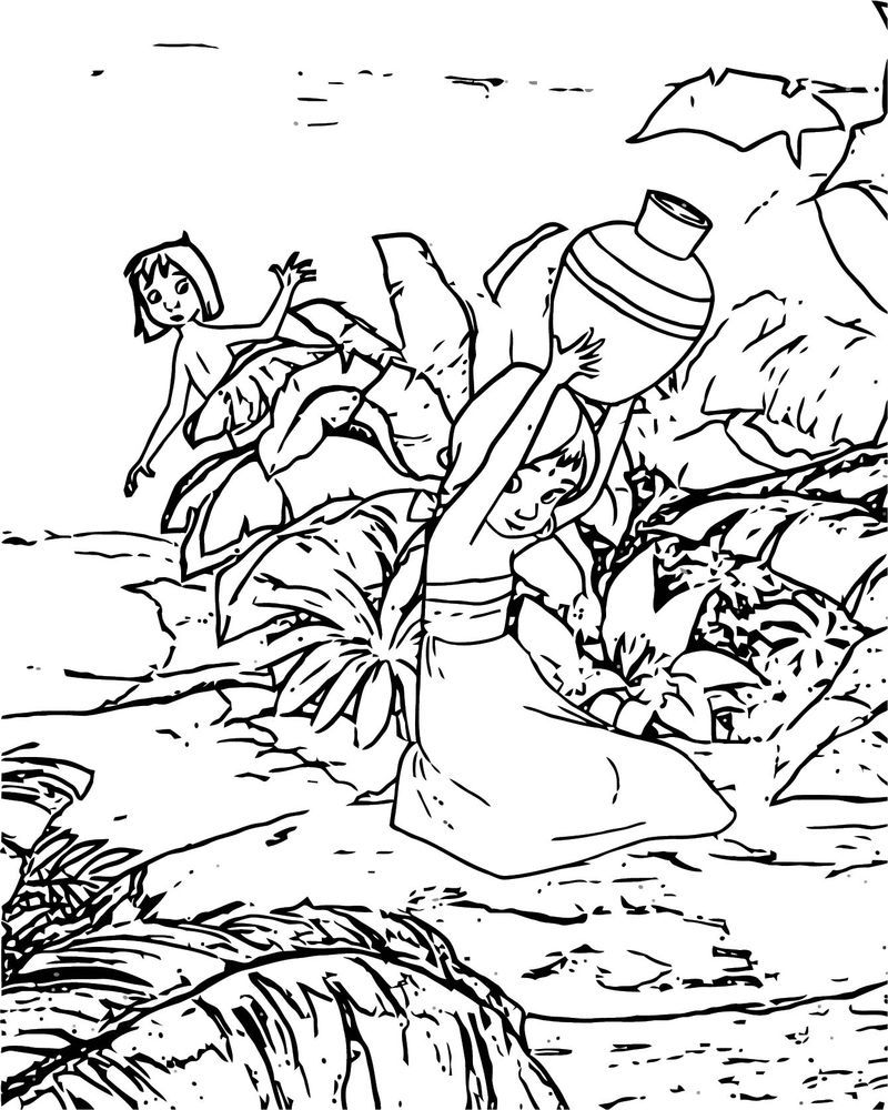 Disney Jungle Book Coloring Page 70