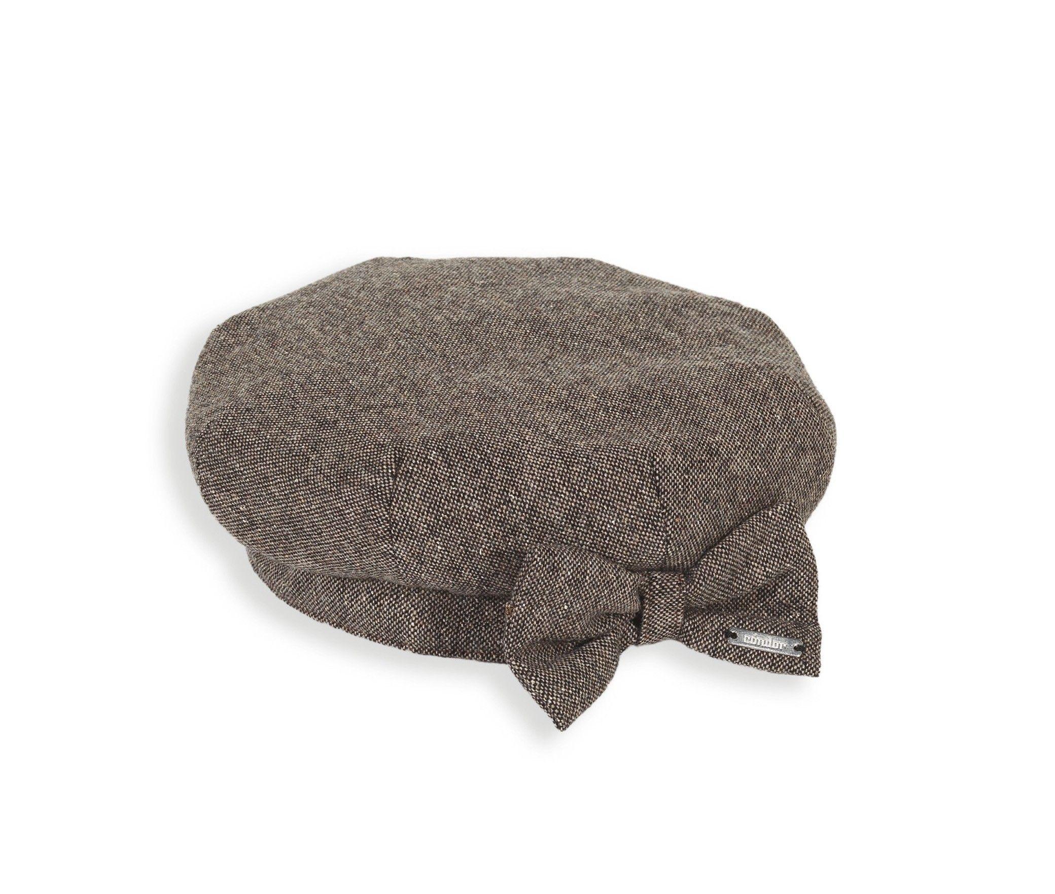 06fcc913d527d boina de tweed infantil Inverno De Garota Bebê