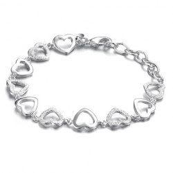 $4.63 Fashionable Elegant Style Heart-Shaped Embellished
