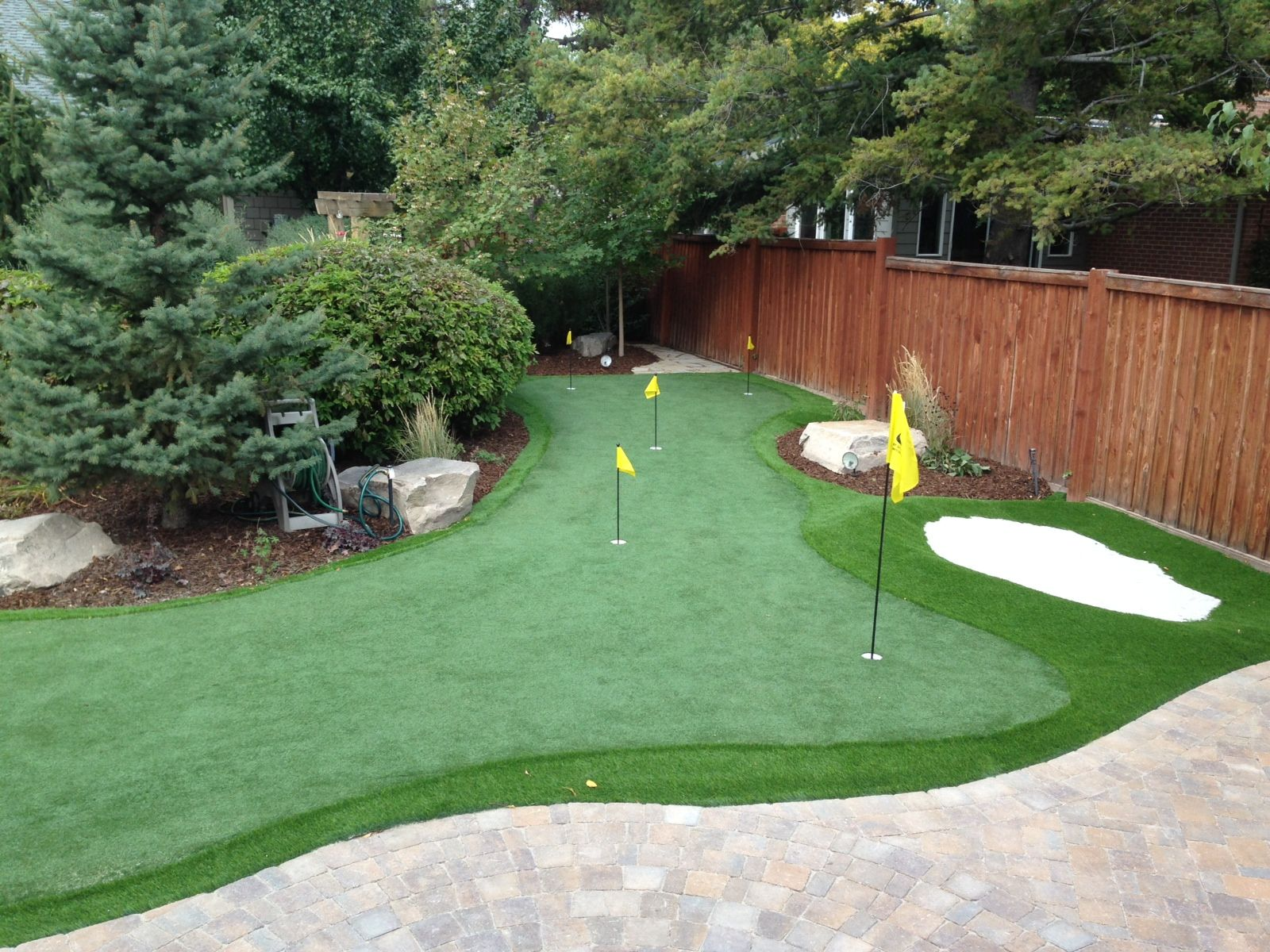 Amazing Golfing In Your Own Backyard