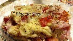 Blog da Suzy  : Torta Prática de Pão Amanhecido (muito fácil)