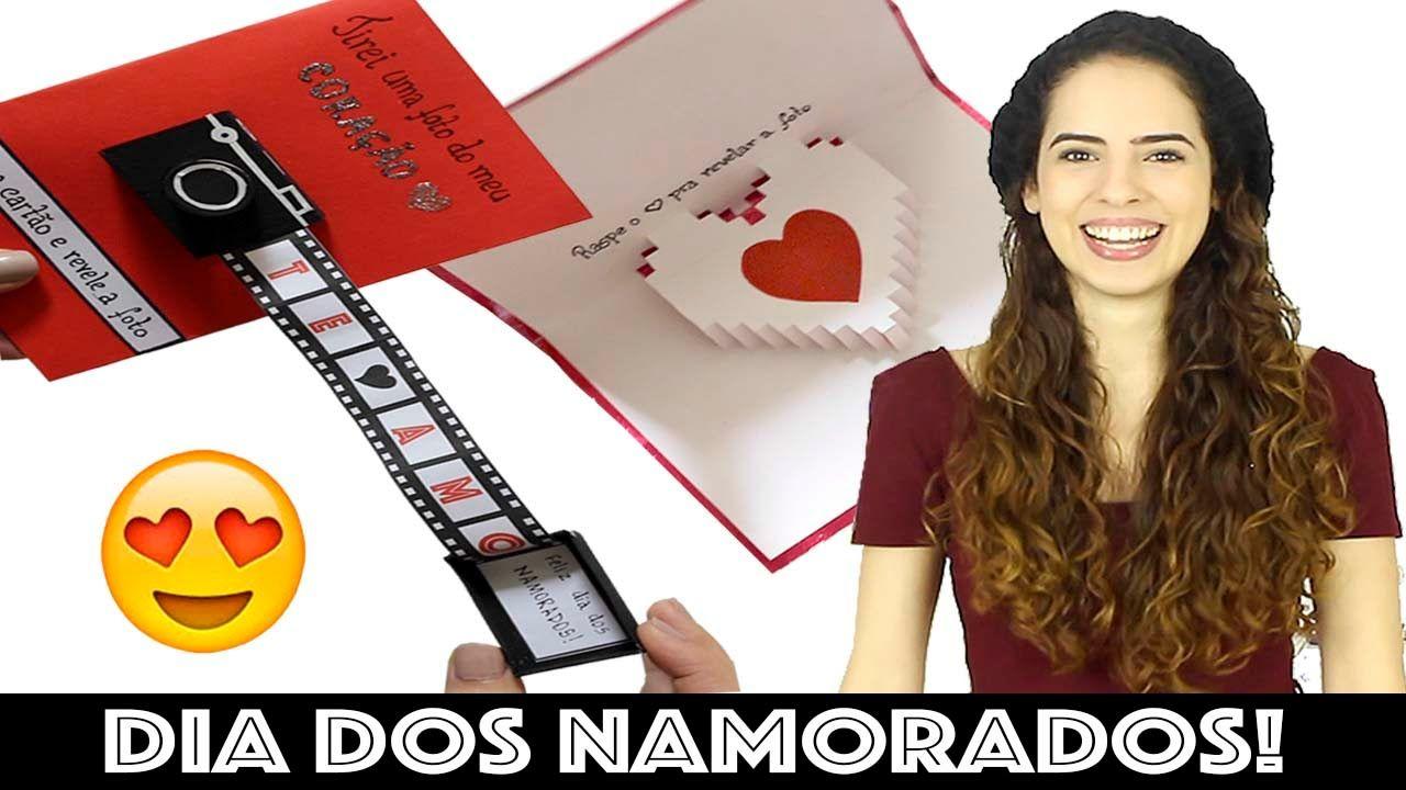 DIY: CARTÃO CRIATIVO PRO DIA DOS NAMORADOS | Paula Stephânia