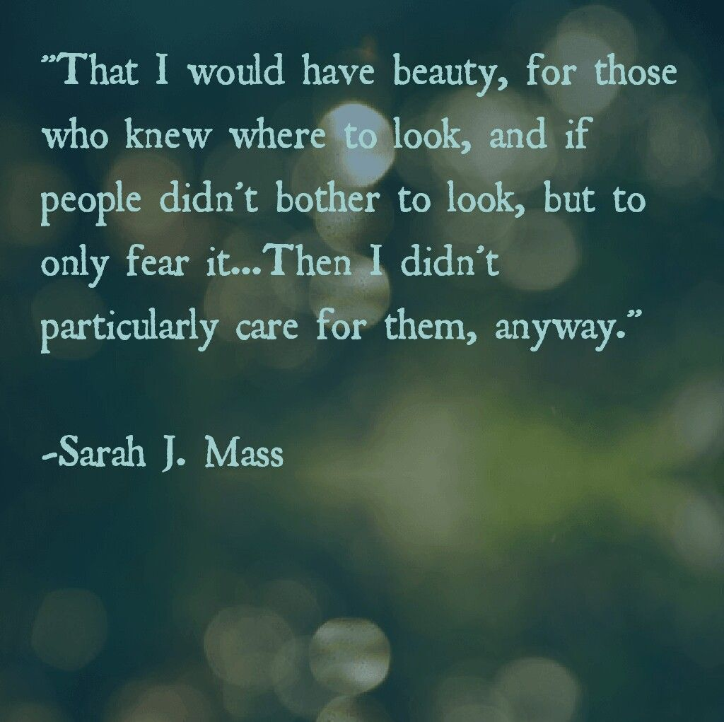 Sarah J Maas A Court Of Mist And Fury Book Quotes With