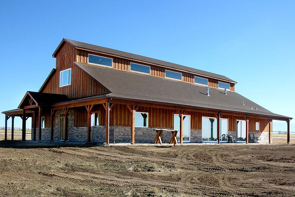 Barndominiums Barn Home Kits Shops With Living Quarters Barn House Kits Barn House Prefab Metal Buildings