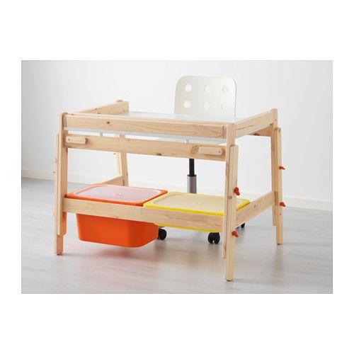 flisat bureau pour enfant r glable bureau pour enfant. Black Bedroom Furniture Sets. Home Design Ideas