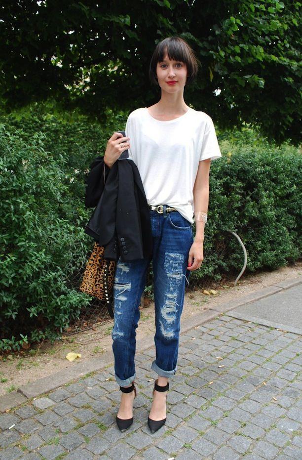 7 Ways To Style Boyfriend Jeans: Get Street Style Inspired ...