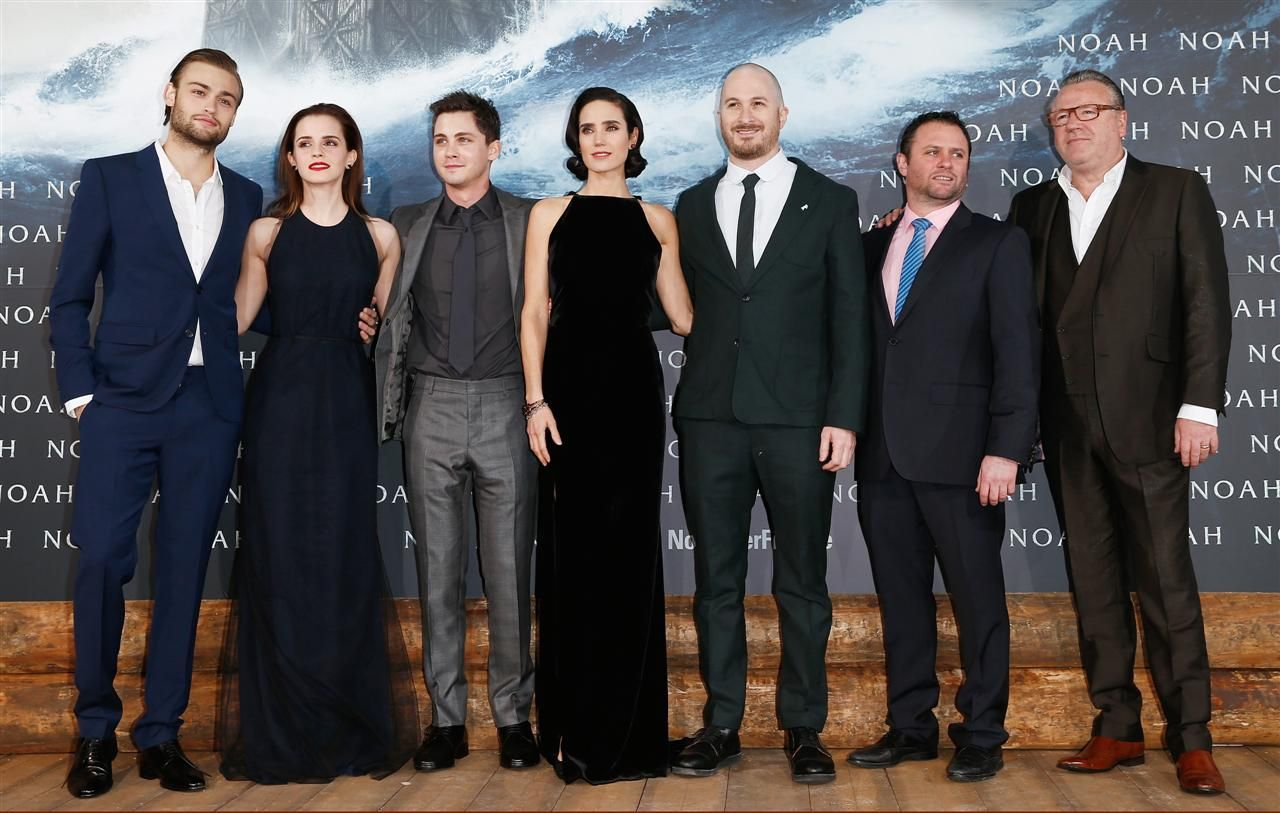 Booth, Watson, Lerman and Connelly were joined by director Darren Aronofsky, producer Scott Franklin and Ray Winstone in Berlin Premiere.