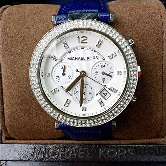 1dff0e5f8984 Michael Kors Parker MK2293 Watch MK Parker watch   MK2293   silver case with