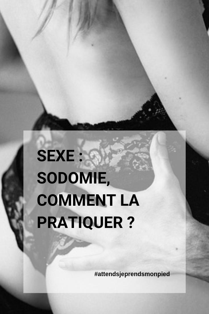 Pourquoi le sexe anal fait-il mal ?