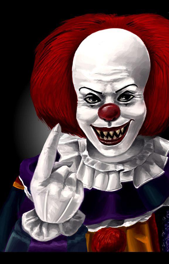T-Shirt Pennywise Stephen King It Es Dancing Clown Horror Retro Vintage Float