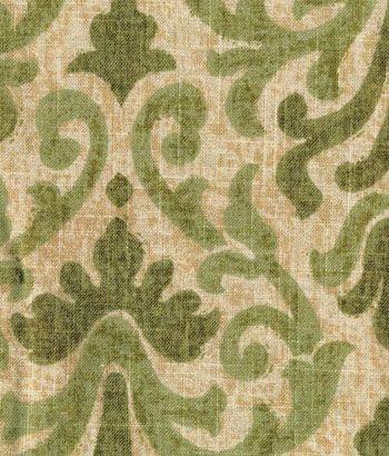 Venetian Brocade Lined Rod Pocket Curtains