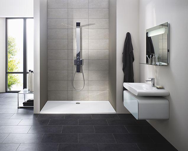 Keramik in Steinoptik Kleine badezimmer, Ideal standard